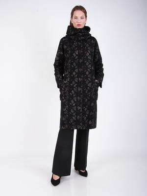 Пальто бежево-черное - CORRERA - 5266255