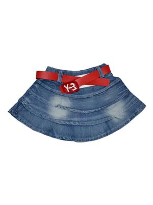 Спідниця синя джинсова | 5267105