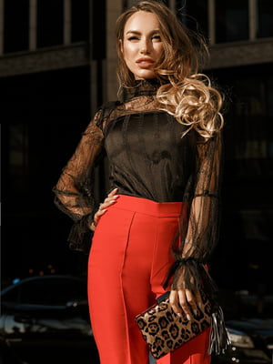 Блуза черная | 5246515