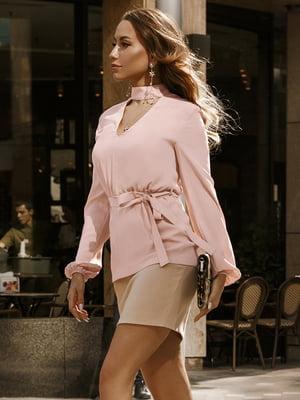 Блуза цвета пудры | 5246524