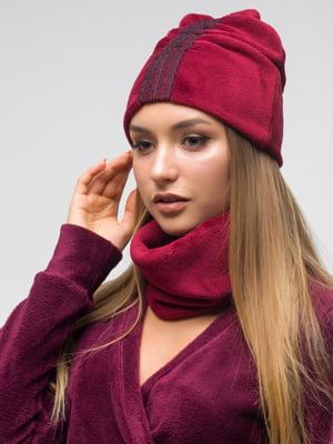 Комплект: шапка и хомут - First Land Fashion - 5269036