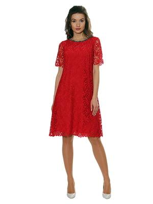 Платье красное   5262588