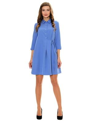 Платье голубое   5262675