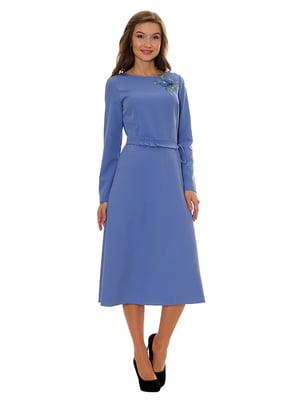 Платье голубое   5262685