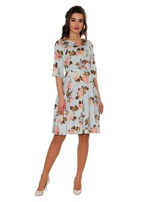 Платье голубое | 5262790