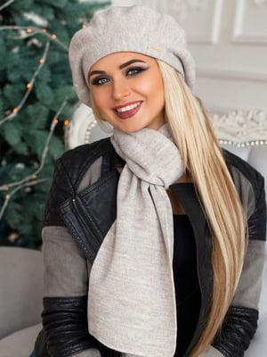 Комплект: берет и шарф | 5270767