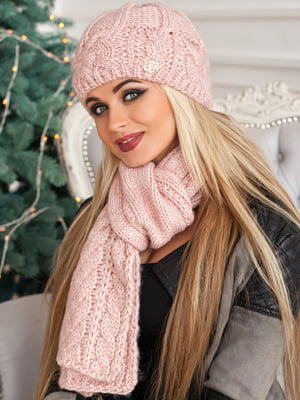 Комплект: шапка і шарф | 5270841