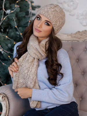 Комплект: шапка і шарф | 5270843