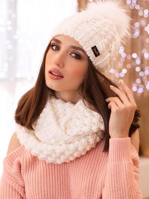 Комплект: шапка та шарф-снуд | 5270868