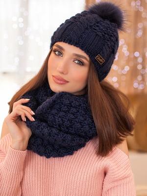 Комплект: шапка и шарф-снуд | 5270869