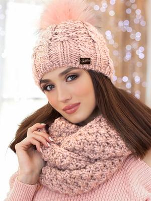 Комплект: шапка и шарф-снуд | 5270870