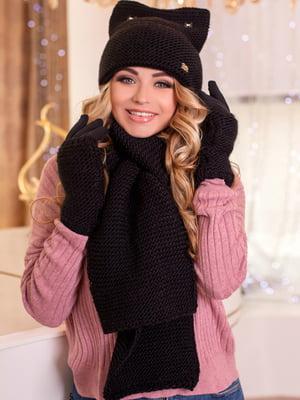 Комплект: шапка, шарф и перчатки | 5270882