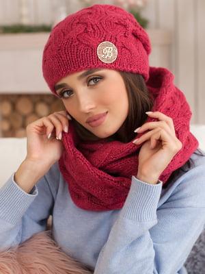Комплект: шапка и шарф-снуд | 5270893