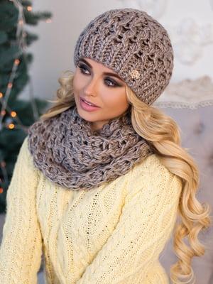 Комплект: шапка и шарф-хомут | 5270950