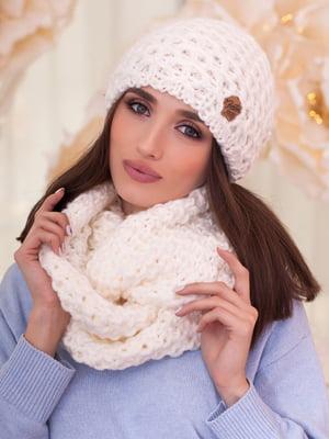 Комплект: шапка и шарф-снуд | 5270957