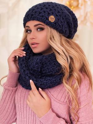 Комплект: шапка и шарф-снуд | 5270958