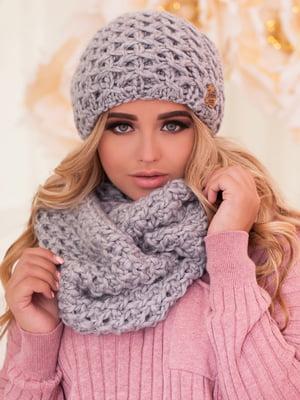 Комплект: шапка и шарф-снуд | 5270959