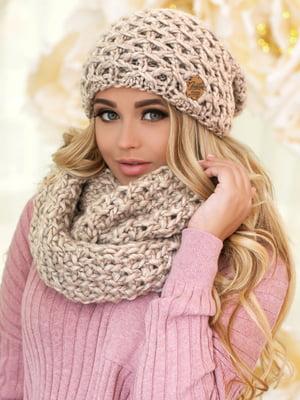 Комплект: шапка и шарф-снуд | 5270960
