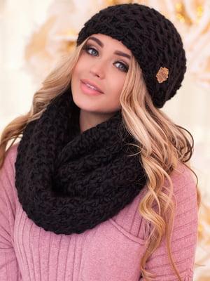 Комплект: шапка и шарф-снуд | 5270961