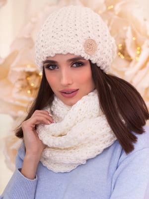 Комплект: шапка та шарф-снуд | 5270967