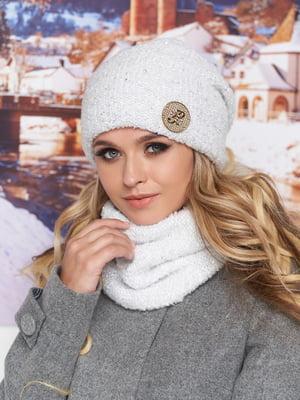 Комплект: шапка та шарф-хомут | 5271044