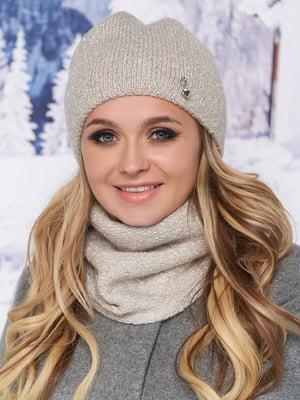 Комплект: шапка и шарф-хомут   5271065