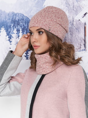 Комплект: шапка и шарф-хомут | 5271066