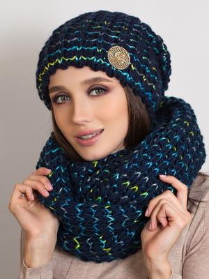 Комплект: шапка и шарф-снуд | 5270969