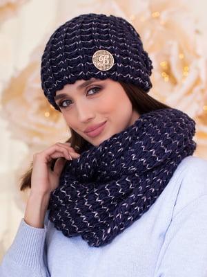 Комплект: шапка и шарф-снуд | 5270970