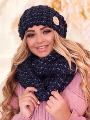 Комплект: шапка и шарф-снуд | 5270971