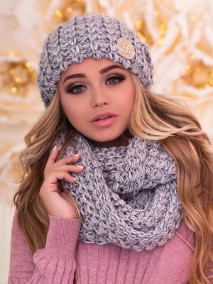 Комплект: шапка и шарф-снуд | 5270973