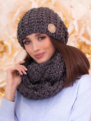 Комплект: шапка та шарф-снуд | 5270976