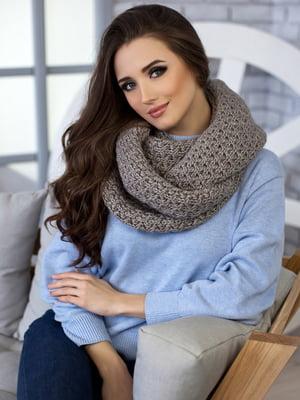 Комплект: шапка и шарф-снуд | 5270813