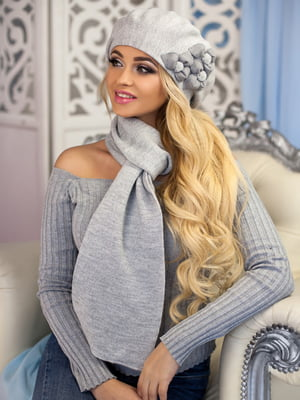 Комплект: берет и шарф | 5271071