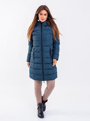 Пальто бирюзовое | 5271165