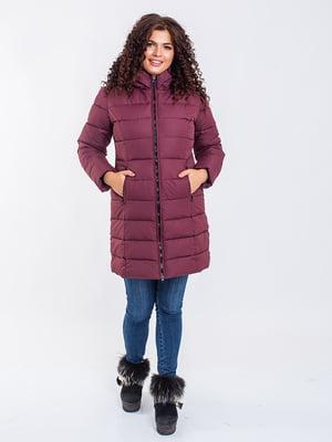 Пальто бордовое | 5271173