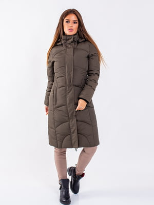 Пальто оливкового цвета | 5271184