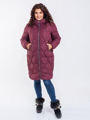 Пальто бордове | 5271198