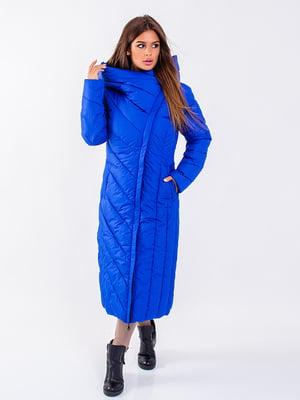 Пальто синє   5271201
