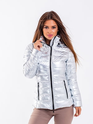 Куртка серебристого цвета | 5271210