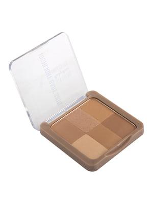 Набір хайлайтерів «Bare Skin 6 in 1 Illuminating Powder» | 5218785
