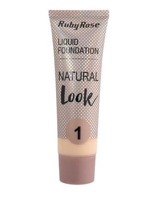Тональная основа Natural Look - тон №1 | 5218825