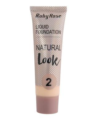 Тональная основа Natural Look - тон №2 | 5218826