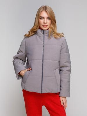 Куртка сіра | 5267880