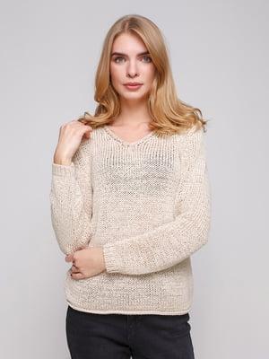 Пуловер бежевый | 5271800