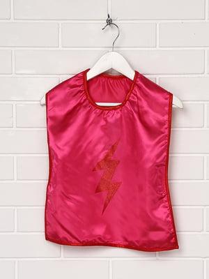 Жилет маскарадный розовый с декором | 5272735