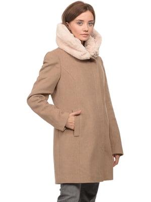 Пальто бежевое | 5269074