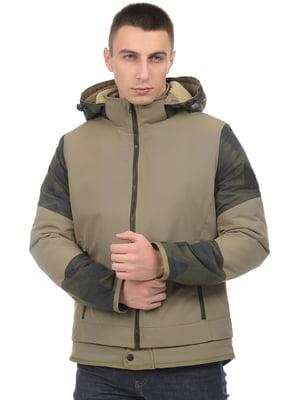 Куртка цвета хаки   5272918