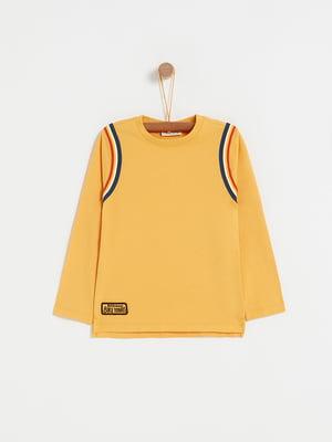 Лонгслив желтый   5265196