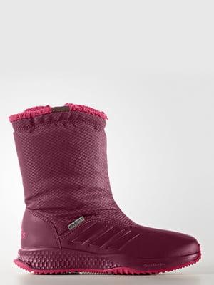 Ботинки бордовые | 4171141